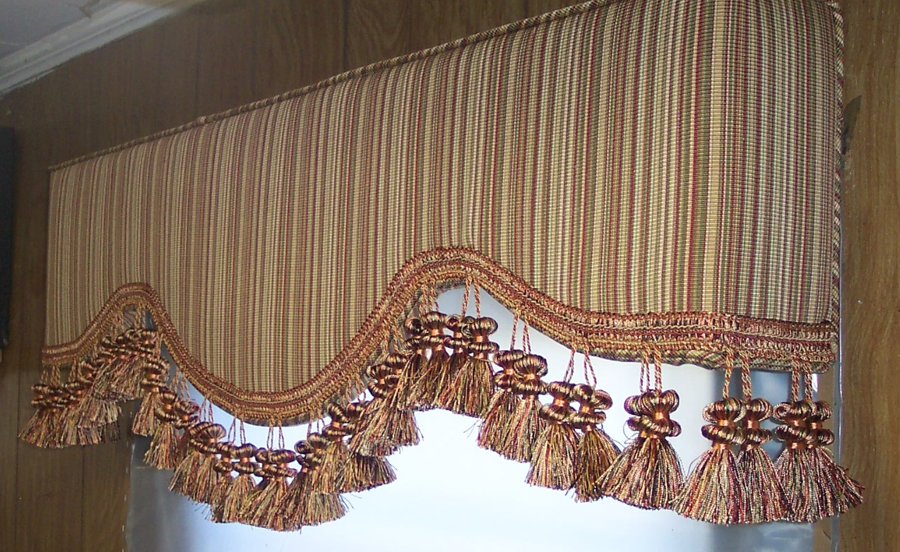 Avondale AZ upholstered cornice boards