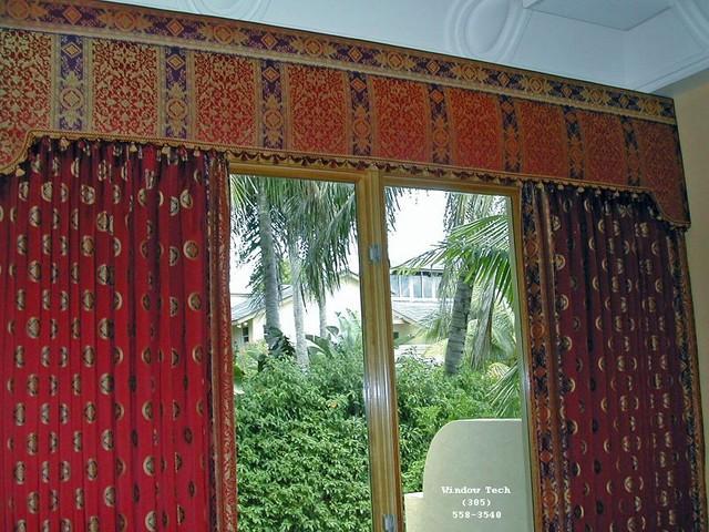 Avondale upholstered cornice boards