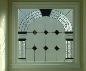 Avondale Fauxstained Glass