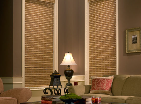 Avondale Woven Wood Shades