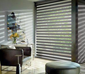 Avondale AZ Modern Designer Banded Shades